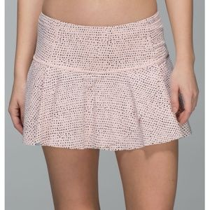 Lululemon | Hit Your Stride Skirt Speckle Dot SZ 8
